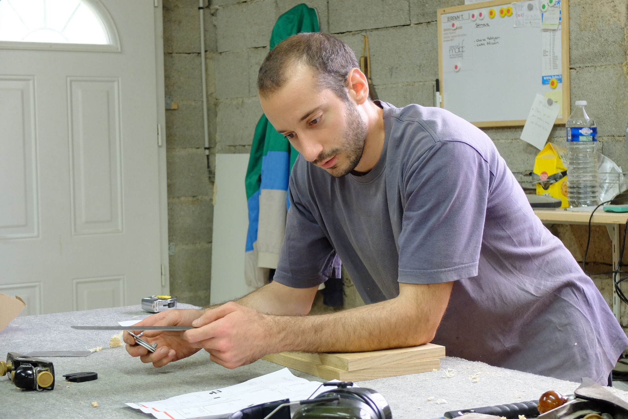 Jeremy tissand - portrait de l'ébéniste